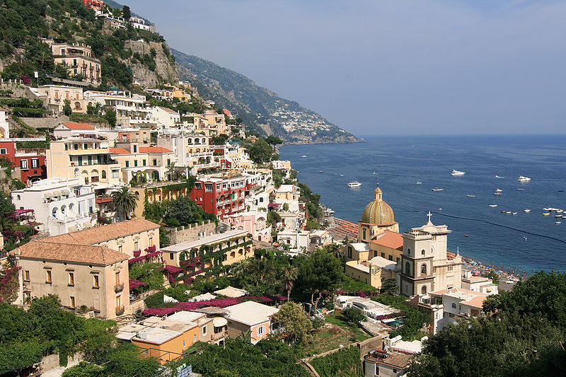 View on Amalfi Coast