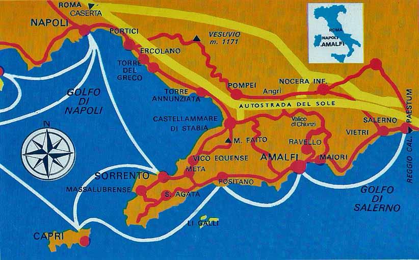 Amalfi Coast Tranport