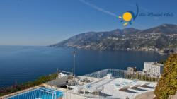 Self Catering Holiday Villa to rent in Maiori / Amalfi Coast - 3 Bedrooms - Sleeps 6 - Pool, Sea View and Balcony