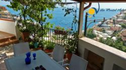 Holiday Apartment to rent in Positano - 1 Bedroom - Sleeps 2+1 - Sea View, Terrace near bus stop and shops