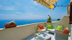 Holiday apartment in Amalfi / Vettica  - 1 Bedrooms - Sleeps 4 - Terrace and sea view.