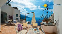 Luxury Villa  to rent for holiday in Positano, Amalfi Coast - Sleep 6, 3 bedroom, terrace and sea view